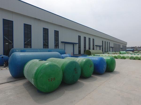 璃钢雨水收集池 (2)